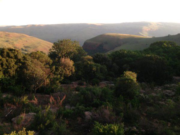 hiking in mpumalanga at bermanzi