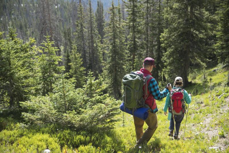 Hiking trials